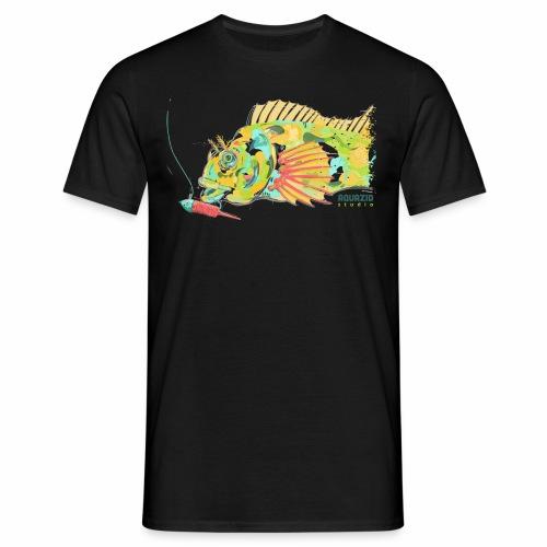 'Mr Eyebrow' - Tompot Blenny - Light Rock Fishing - Men's T-Shirt