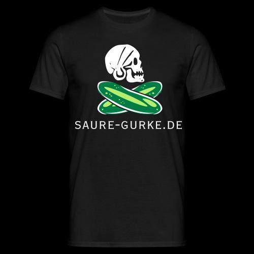 saure-gurke-pirat 01 - Männer T-Shirt