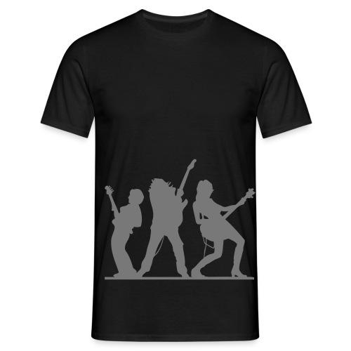bass & gitarre - Männer T-Shirt
