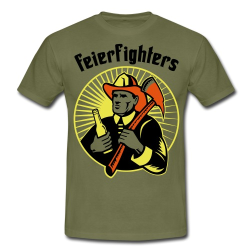 feierfighters - Männer T-Shirt