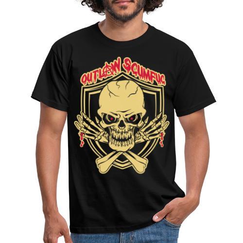 Outlaw Scumfuc - Männer T-Shirt