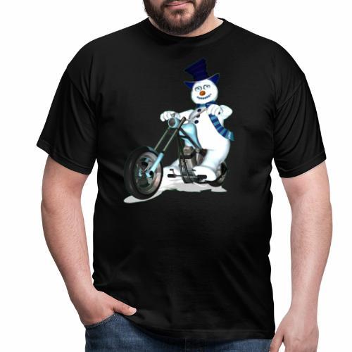 snowman - Men's T-Shirt