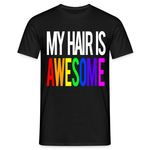 MYHAIR png - Men's T-Shirt