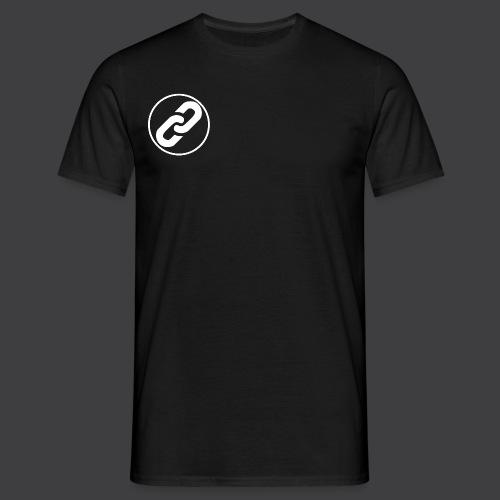 White Connect Logo png - Men's T-Shirt