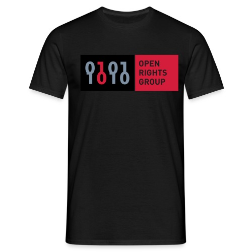 org horiz logo cmyk - Men's T-Shirt