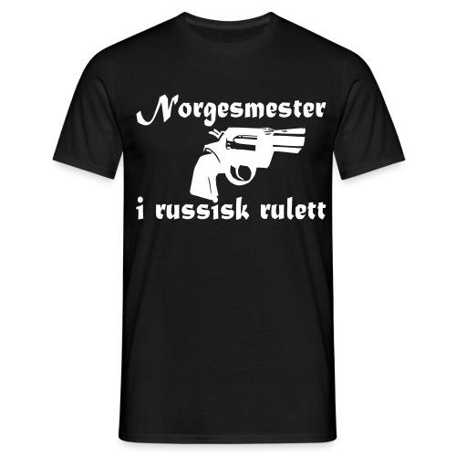 russiskrulett - T-skjorte for menn