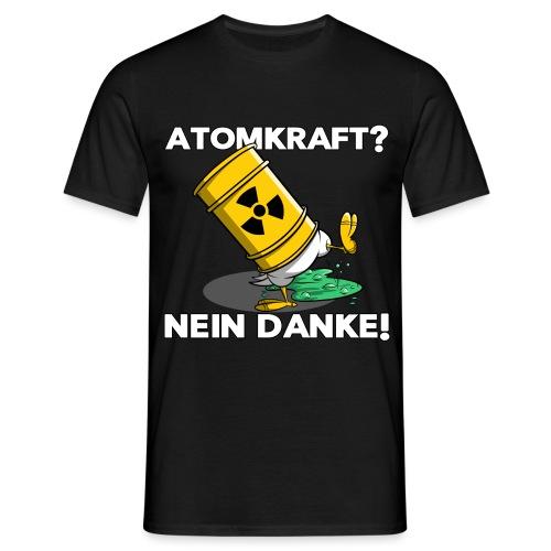 Atomkraft - Nein Danke - Männer T-Shirt