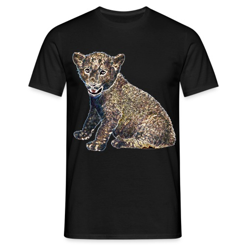 Lil Lion - Men's T-Shirt