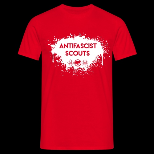 Antifascist Scouts - Men's T-Shirt