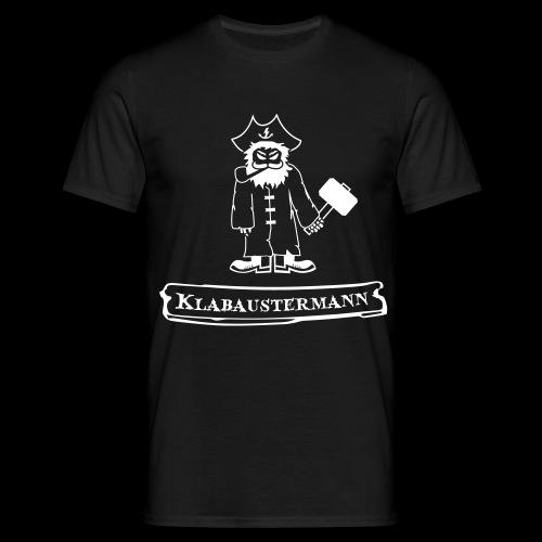 Klabaustermann - Männer T-Shirt