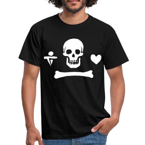Stede Bonnet Flag - T-shirt Homme