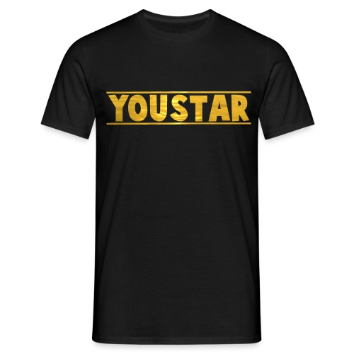 Golden Youstar Merch - Men's T-Shirt