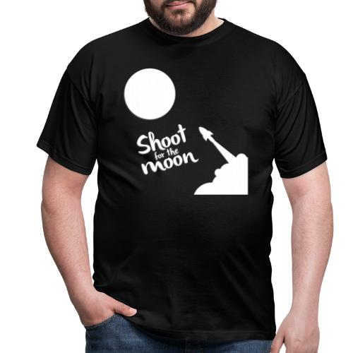 Shoot for the Moon - Men's T-Shirt