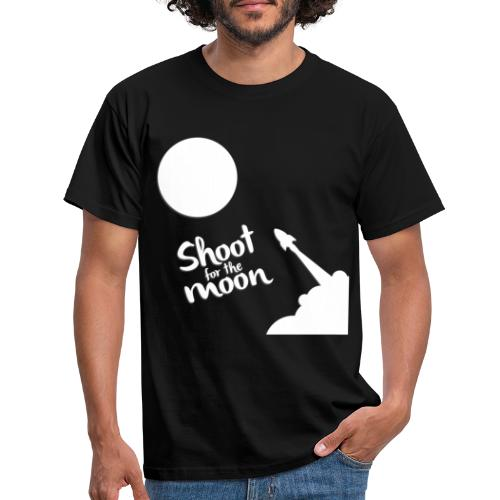 Shoot for the Moon - Men's T-Shirt