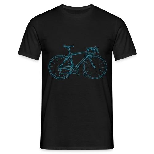 Rennrad Herren Fahrrad Skizze Radsport - Männer T-Shirt