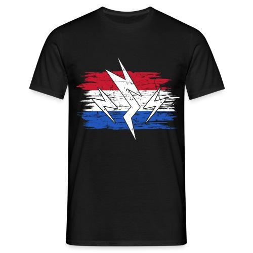 Niederlande Holland Strom Elektroauto Geschenk - Männer T-Shirt