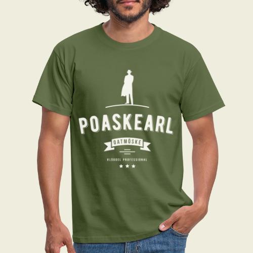 Poaskearl Oatmöske - Mannen T-shirt
