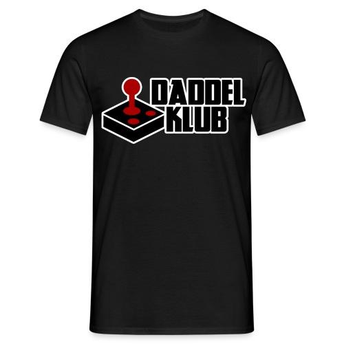 DK Logo mit Outline - Männer T-Shirt