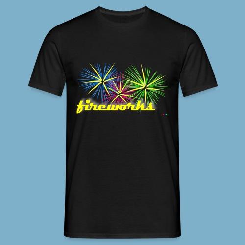fireworks - Männer T-Shirt