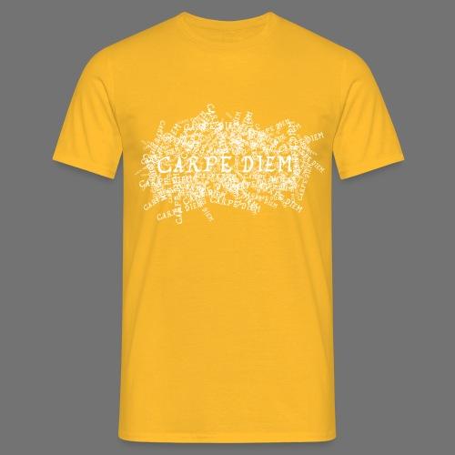 carpe diem (white) - Men's T-Shirt