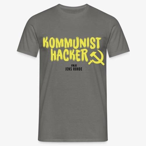 Kommunist Hacker ifølge Jens - Herre-T-shirt