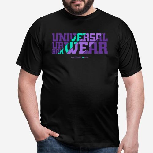 universelle urbane Kleidung - Männer T-Shirt