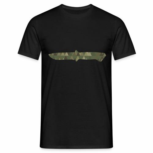 Knife - Männer T-Shirt