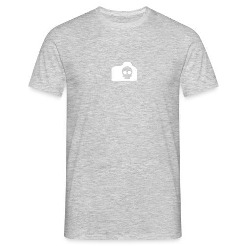 tortured camera logo - Men's T-Shirt