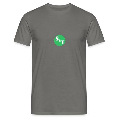 ST Main Logo - Men's T-Shirt