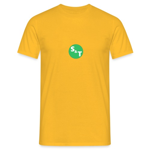 ST Main Logo - Men's T-Shirt