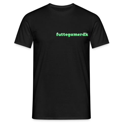 futtegamerdk trøjer badge og covers - Herre-T-shirt