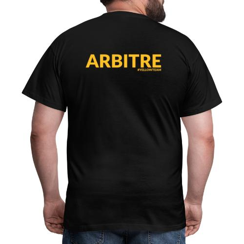 Arbitre Yellow Team - T-shirt Homme