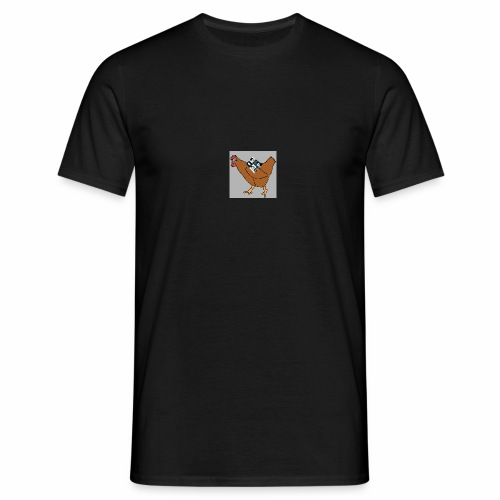 Quad Chicken Logo - Men's T-Shirt