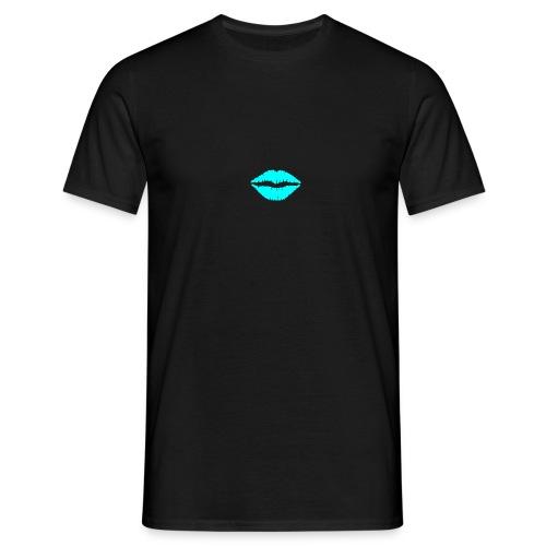 Blue kiss - Men's T-Shirt