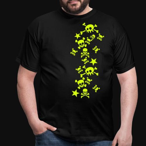 Crâne et os ludiques - T-shirt Homme