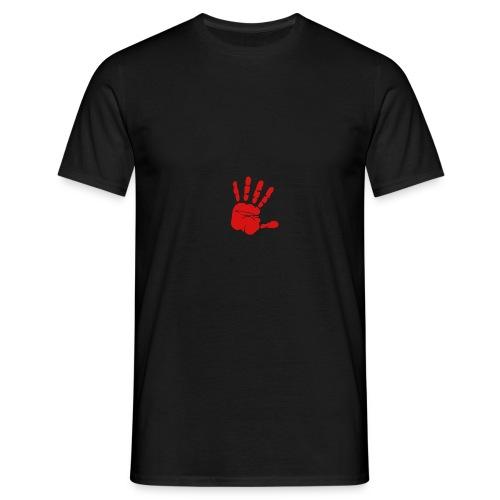 Handabdruck - Männer T-Shirt