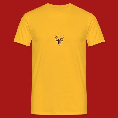 Deer-Head GOLD - Herre-T-shirt