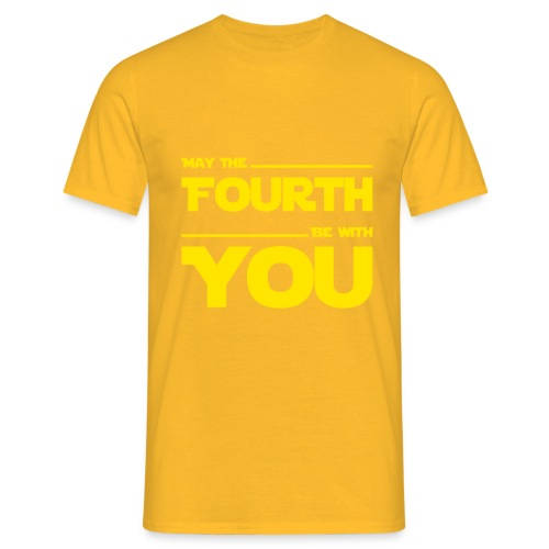 May Source Be With You für Film-Geeks/Nerds - Men's T-Shirt