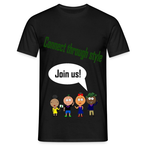 Front 1 png - Herre-T-shirt