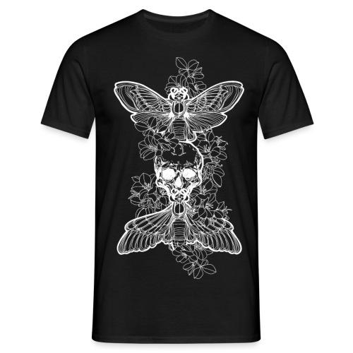 MothSkull - Männer T-Shirt