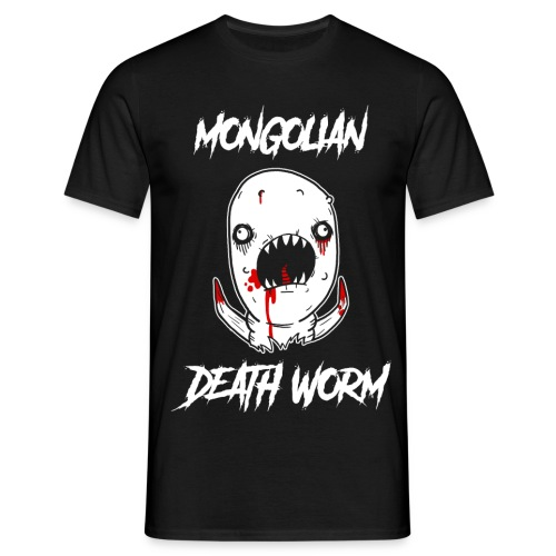 Just John Comics - Mongolian Death Worm - Men's T-Shirt
