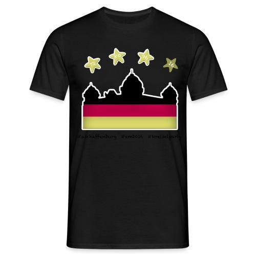 Fanshirt__schwarz - Männer T-Shirt