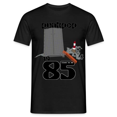 Dark Close PunkPop 1985 - Maglietta da uomo