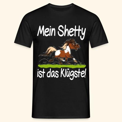 Mein Shetty das Klugste (Text weiss - T-shirt Homme