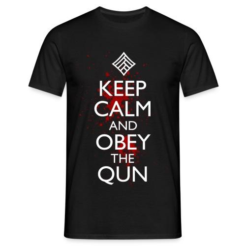 obeythequn - Men's T-Shirt