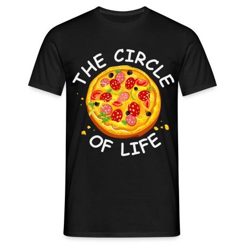 The circle of life - T-shirt herr