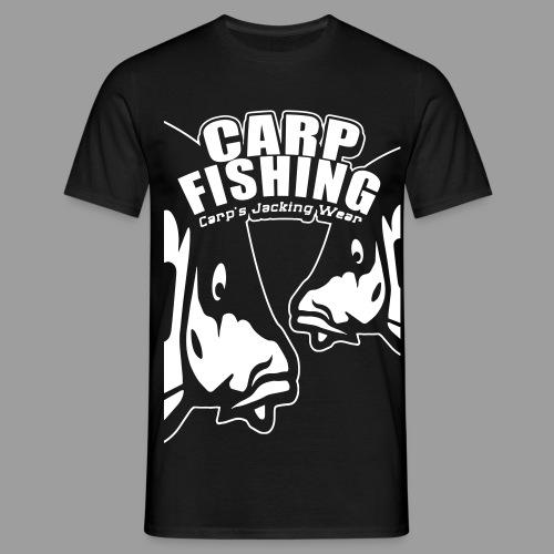 big face carps 1 couleurs carpsjacking - T-shirt Homme