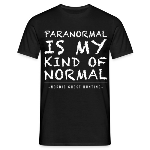 Paranormal is my kind of normal - T-shirt herr
