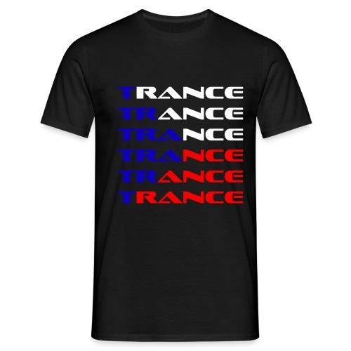 Trance Tjeckien - T-shirt herr