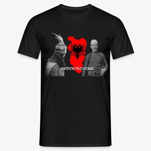 Autochthonous das Shirt muss jeder Albaner haben - Männer T-Shirt